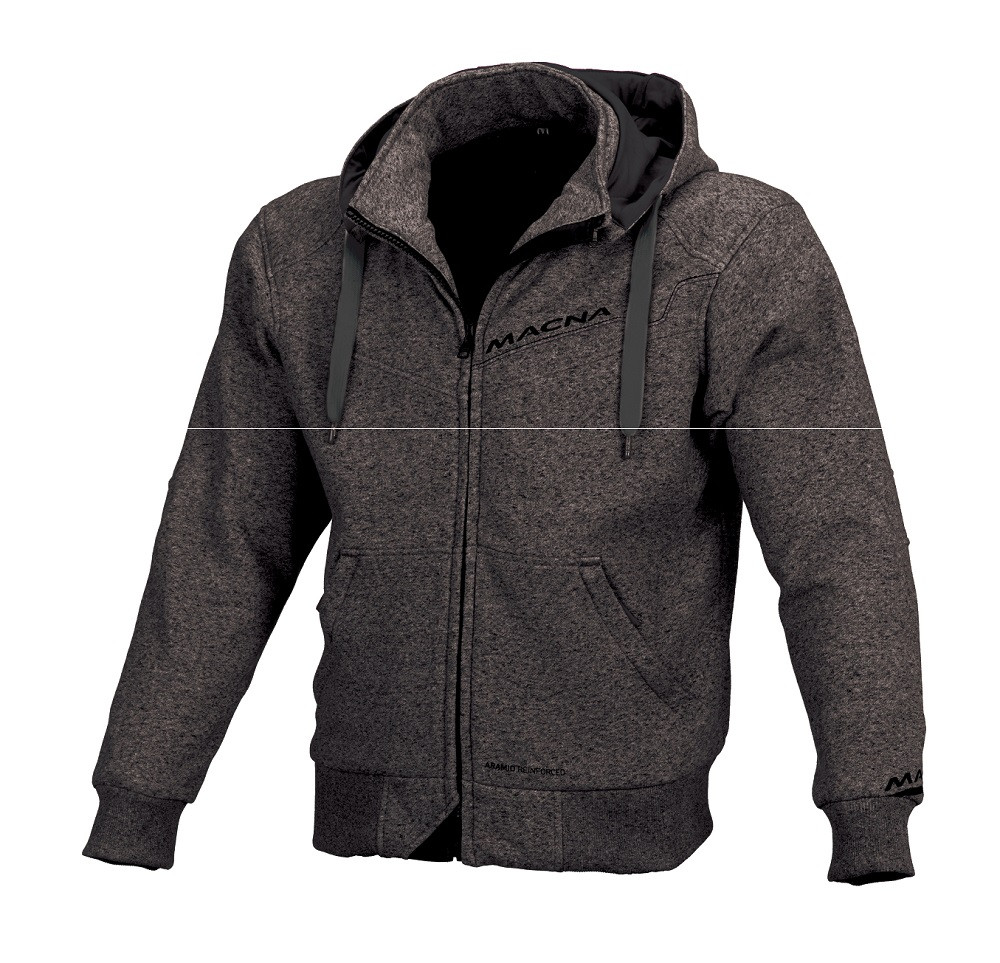 Macna summer jacket Freeride black dark grey