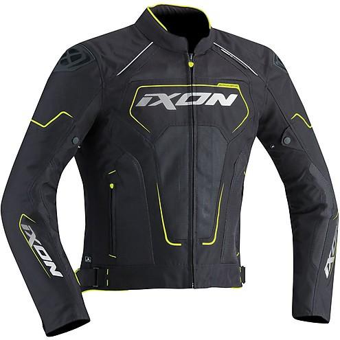Ixon Jacket Zephyr Air HP black grey yellow