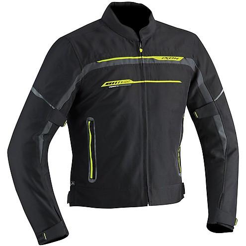 Ixon jacket Zetec Light HP Black grey yellow
