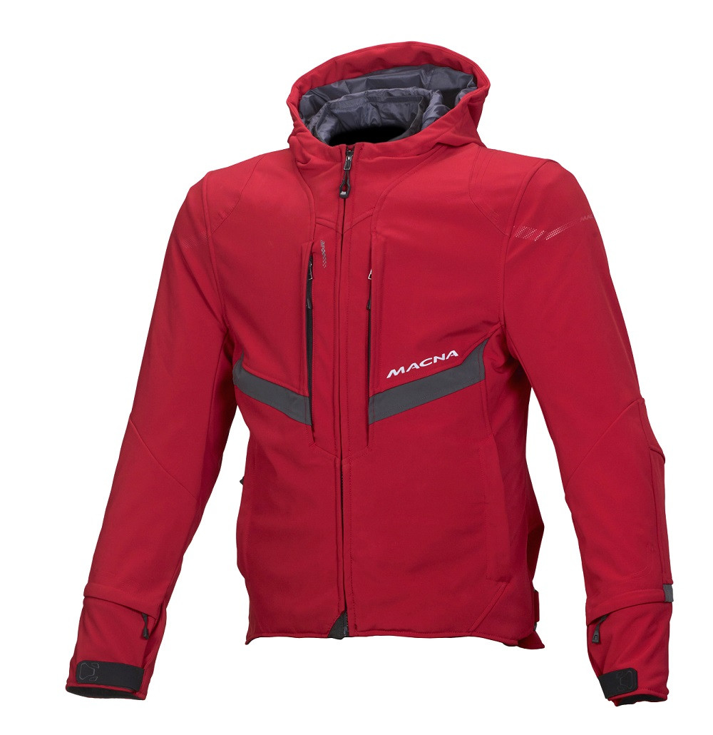 Macna jacket Habitat WP red