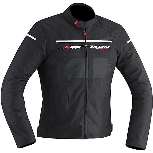 Ixon jacket Helios black white red