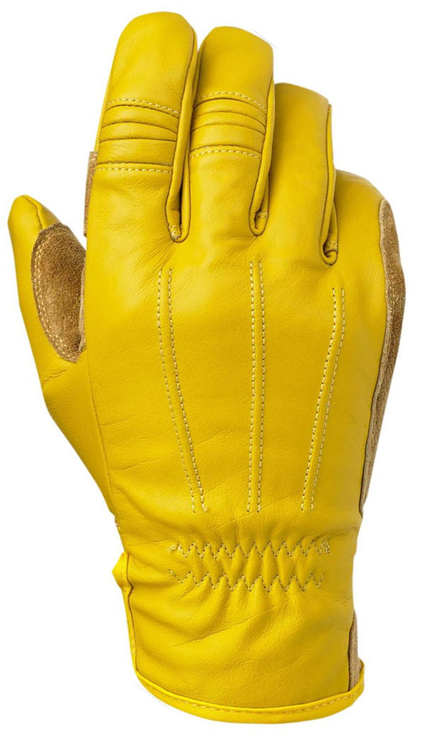 motorcycle Biltwell Yellow Gloves