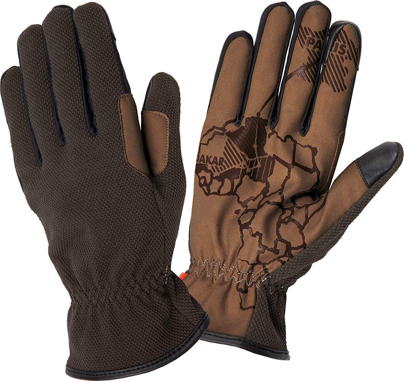 Tucano Urbano Mauri dark green summer gloves