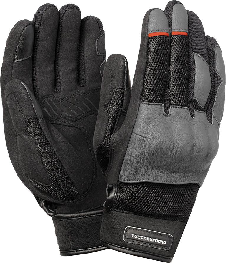 Tucano Urbano Mrk Pro grey summer gloves