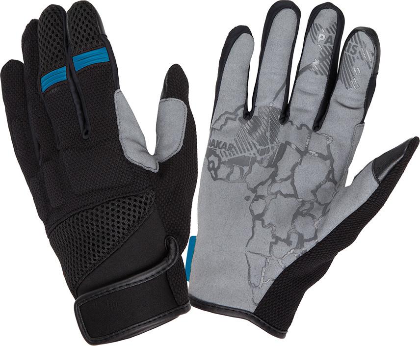 Tucano Urbano Tebu black-blue summer gloves