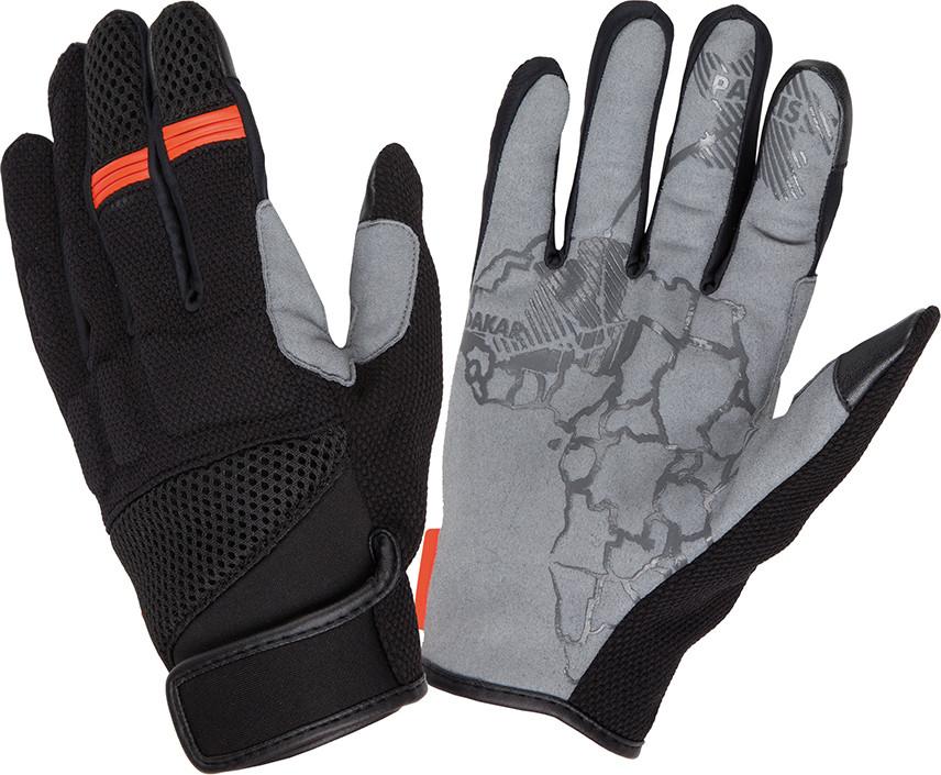 Tucano Urbano Tebu black-Orange summer gloves