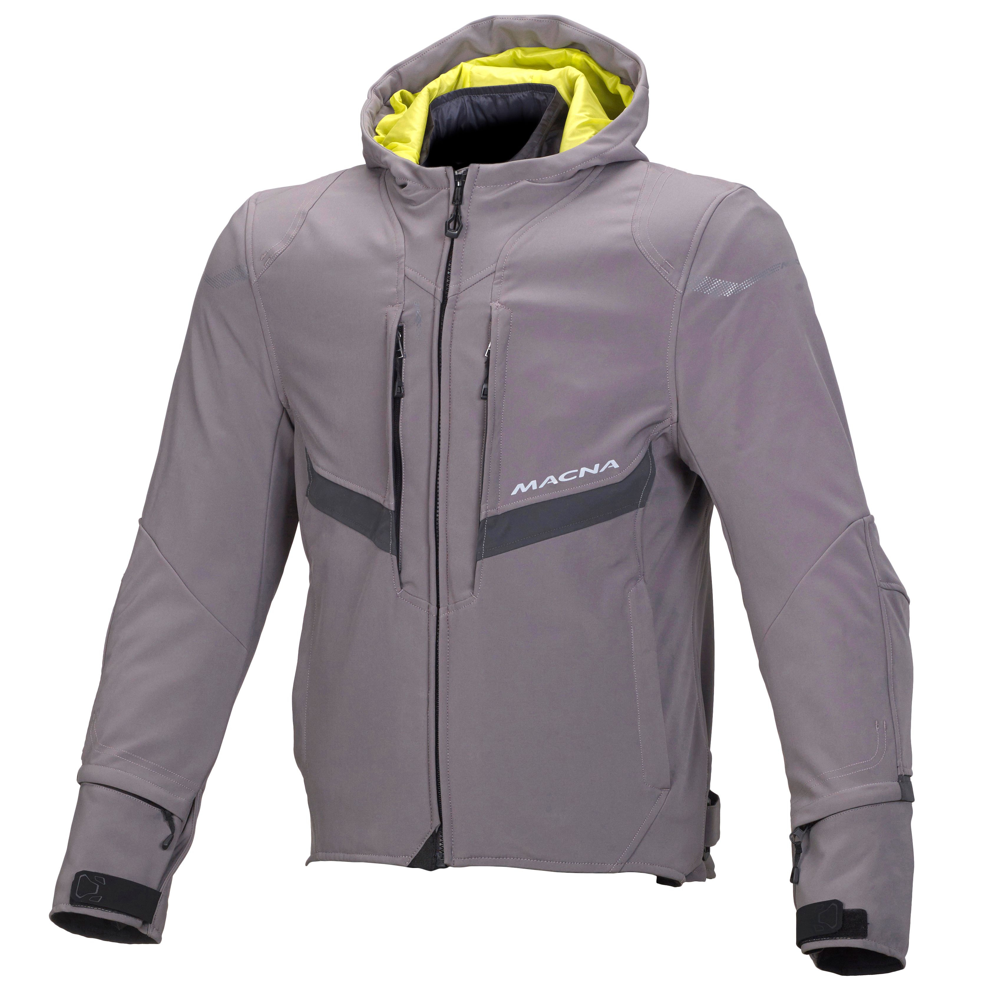 Macna jacket Habitat WP dark grey