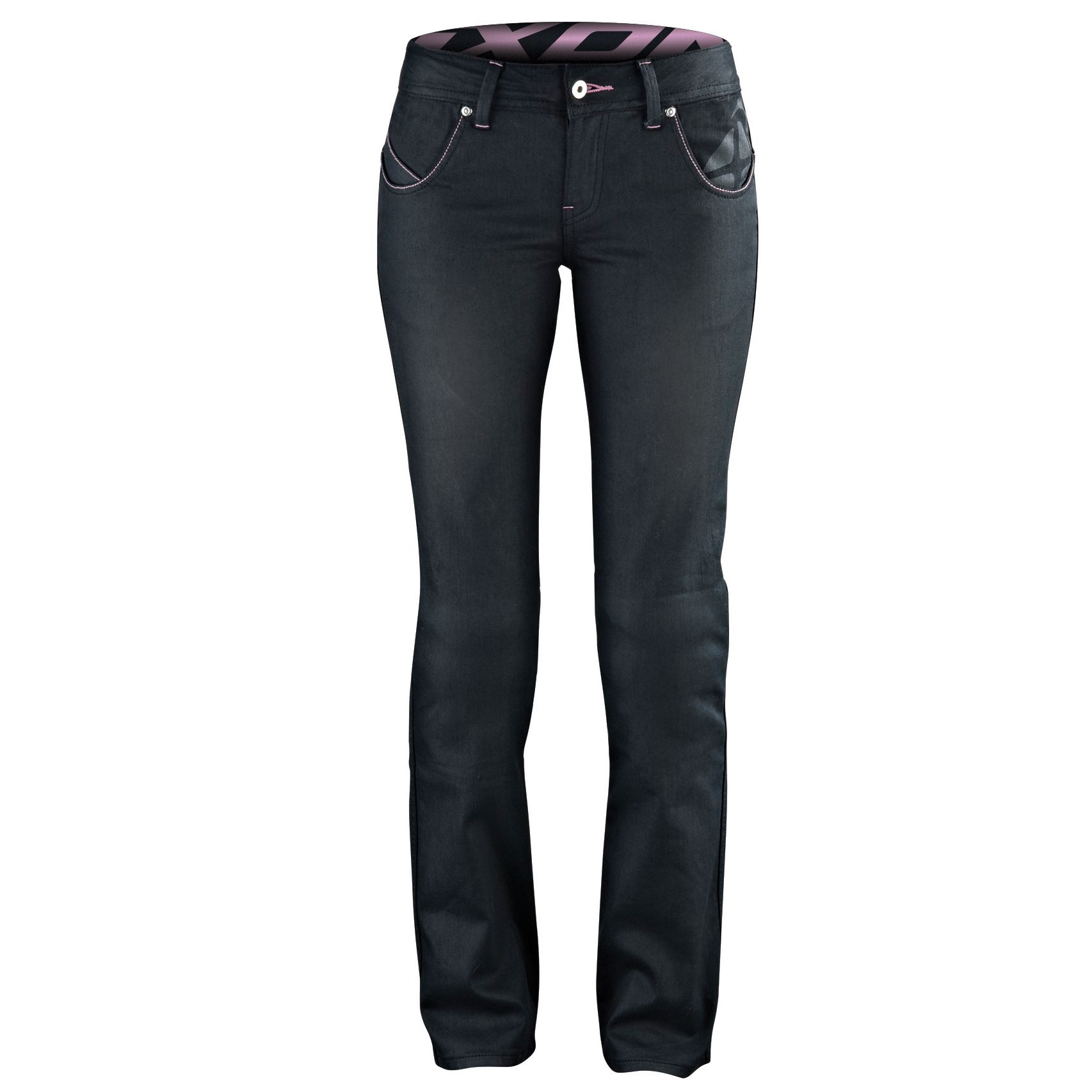 Ixon woman jeans Britney with Kevlar reinforcements black
