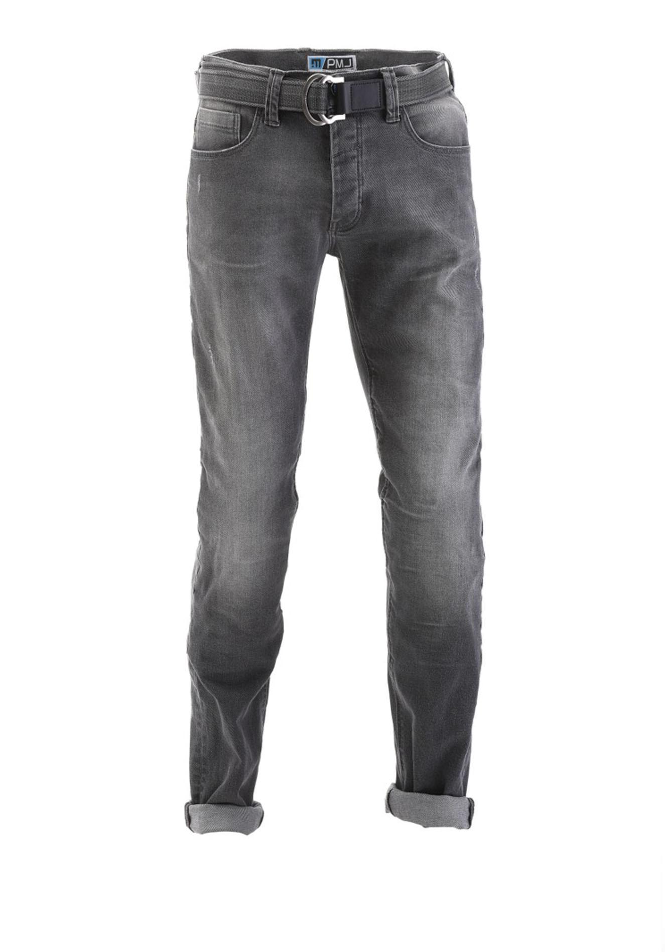 ee0933e25d Jeans moto Pmj - Promo Jeans Legend grigio