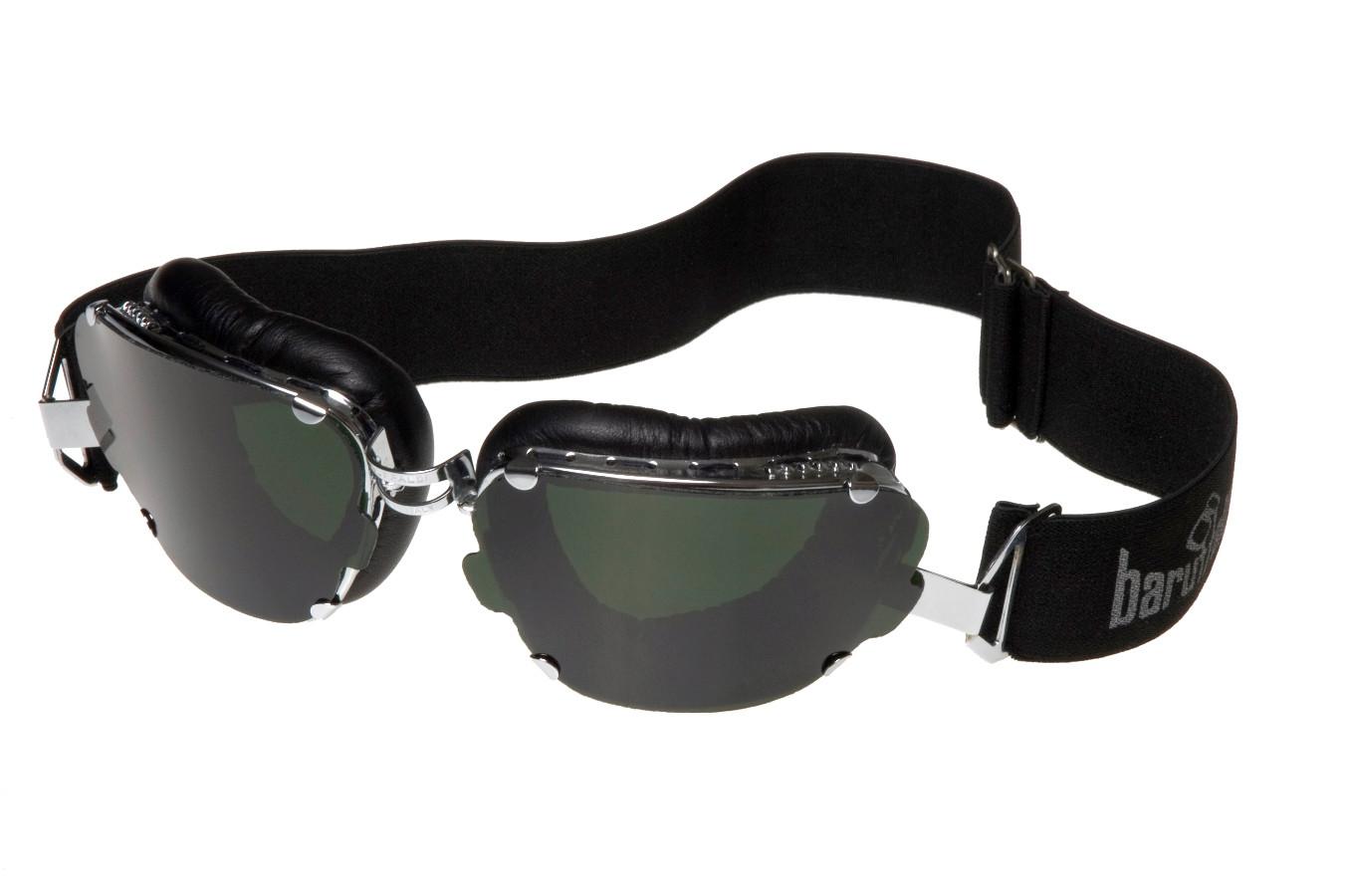 4be23a56842 Motorcycle goggles Baruffaldi Inte 259 black