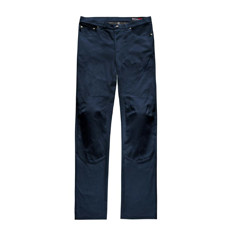 Blauer trousers Kevin 5 pokets Canvas blue