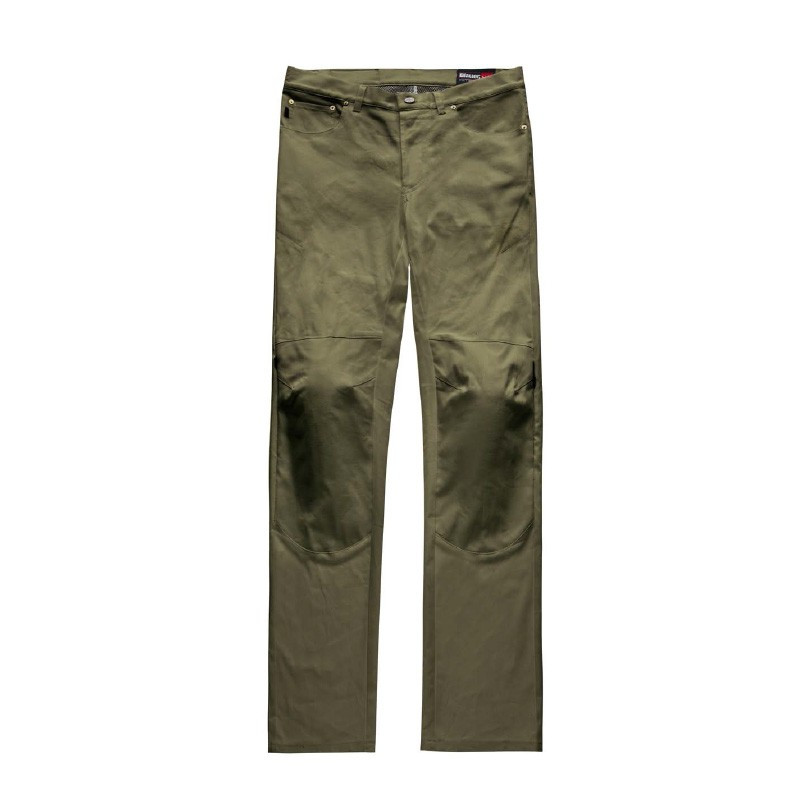 Blauer trousers Kevin 5 pokets Canvas green