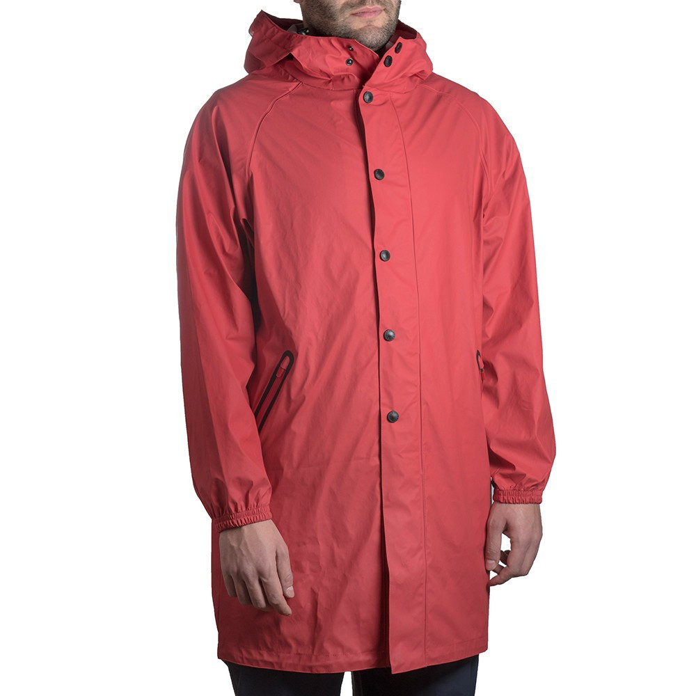 Tucano Urbano Fishtail parka Pluvia red waterproof