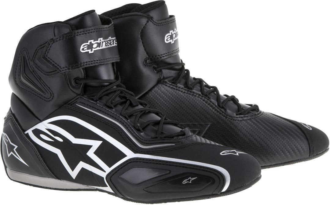 Alpinestars Faster-2 shoes Black Silver