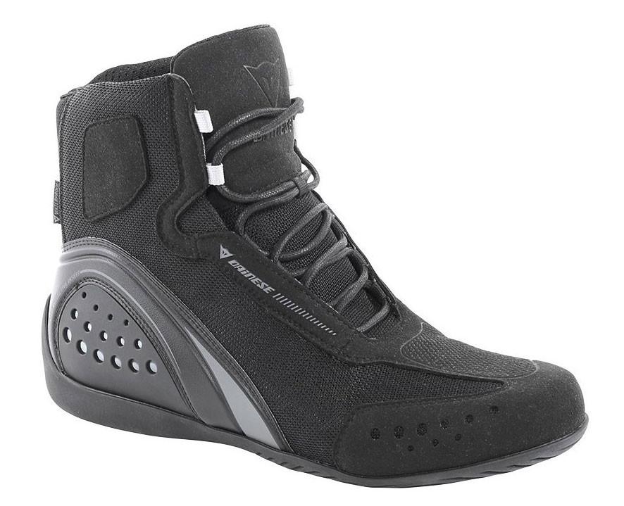 Dainese Motorshoe Air JB woman shoes Black Anthracite
