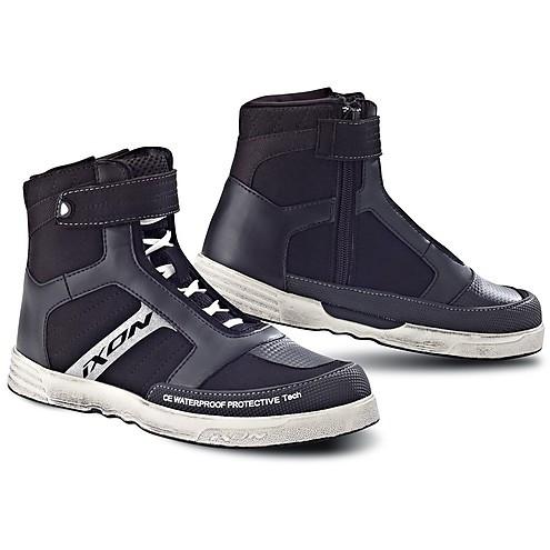 Ixon woman shoes Slack black white