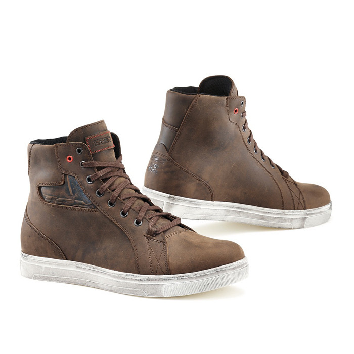 Tcx Street Ace WP Cafè motorcycle boots Brown