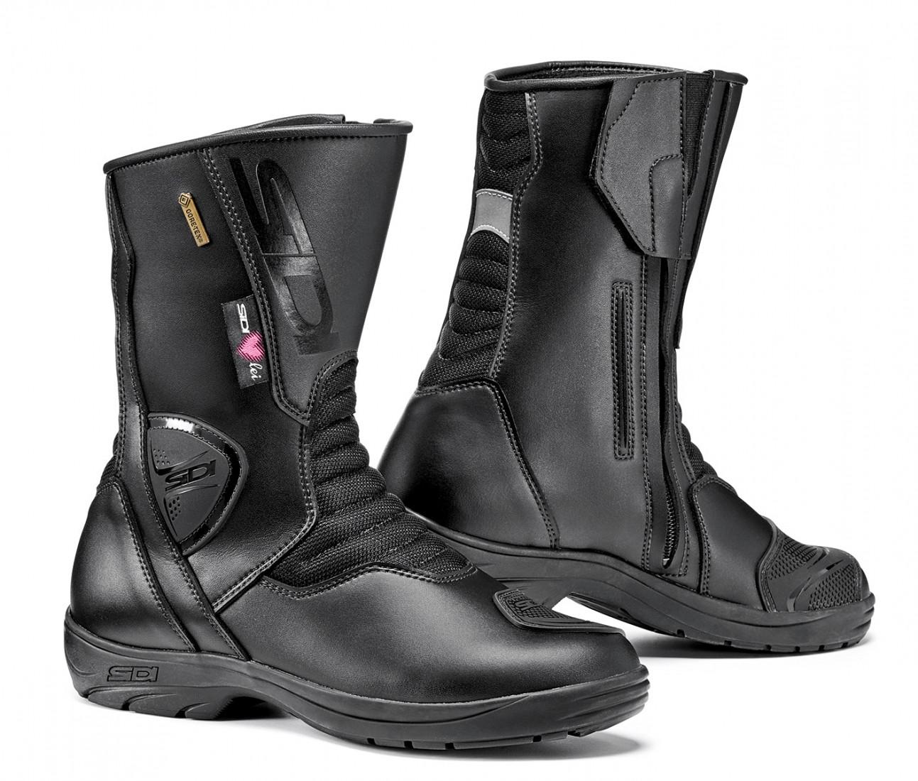 Sidi Lady Gavia Gore-tex women's toruing boots black black