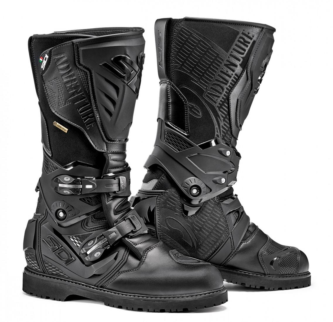Sidi Adventure 2 Gore-Tex toruing boots black black