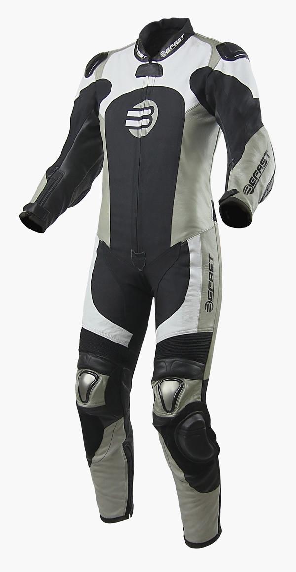 Befast Spy Racer kid leather suit Black
