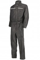 OJ Compact Total Black waterproof on piece suit