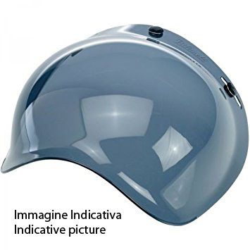 Airoh Antiscratch Bubble Visor For RIOT GARAGE helmet dark smoke