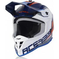 Acerbis LINEAR cross helmet blue white