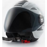 Blauer BRAT jet helmet White Black