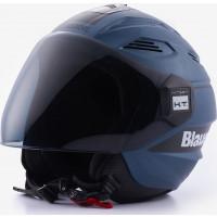 Blauer BRAT jet helmet Blue Indigo Black