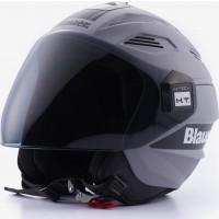 Blauer BRAT jet helmet Grey Matt Black