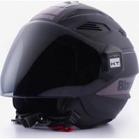 Blauer BRAT jet helmet Black Matt Titanium