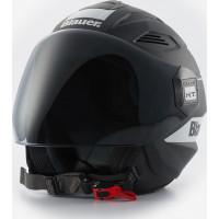 Blauer BRAT jet helmet Black Matt White