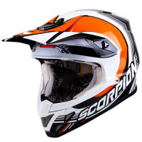 Scorpion VX 20 Air Spot off road helmet Black Orange