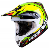 Scorpion VX 20 Air Spot off road helmet Black Multi
