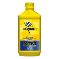 Bardahl XTM Scooter 5W-40 lubricating oil 1 liter for 4 stroke engine