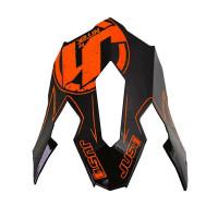 Spare visor Just1 J12 Carbon Orange Fluo