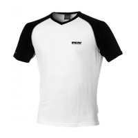 TCX summer short sleeved t-shirt White-Black