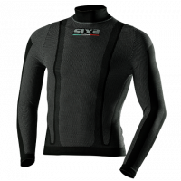 Sixs long sleeved turtleneck Black
