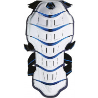 Tryonic back protector Feel 3.7 - CE Level 2 white-blu