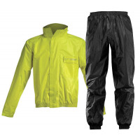 Rain suit divisible Acerbis Logo Yellow Black