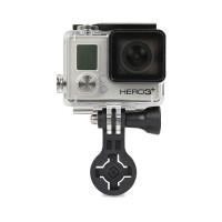 Cube X-Guard GoPro adapter black