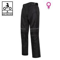 Pantaloni moto donna estivi Befast DUNE PANT Lady CE Nero