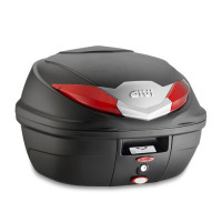 Givi top case B360 monolock 36 lt with red reflectors