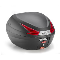Givi B330 Monolock top box 33 lt Black with red reflectors
