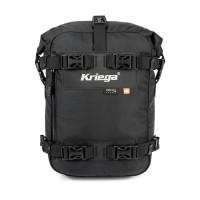 Kriega Drybag US-10 KUSC10 motorcycle bag 10 liters Black