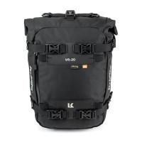 Kriega Drybag US-20 USC20 20-liter motorcycle bag Black