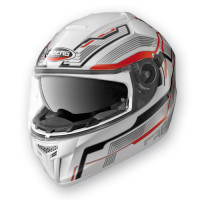 Full face helmet Caberg Ego Streamline White Red