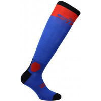 SIXS LONG RACING socks Blue Red