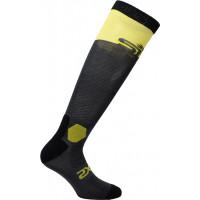 SIXS LONG RACING socks Grey Yellow