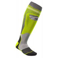 Alpinestars MX PLUS-1 technical socks Yellow grey